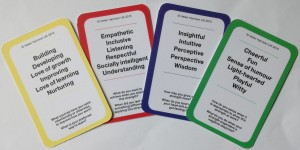 Example STRENGTH cards