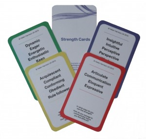 STRENGTH cards' examples